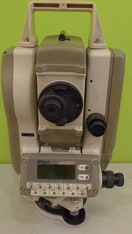 [二手測量儀器]日本NIKON DTM450光波全站儀//測距經緯儀 日本製  保固一年