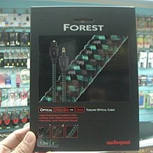 禾豐音響 貨 Audioquest Optical Forest 光纖線 3.5mm-F