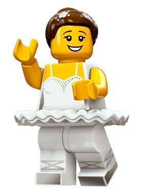 現貨【LEGO 樂高】積木/ Minifigures人偶系列: 15 代人偶包抽抽樂 71011 | 芭蕾舞女孩
