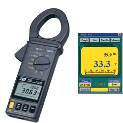 TECPEL泰菱》泰仕 TES-3063 數位夾式功率表 鉤表 勾表 WATT KVA KW PF HZ 功率勾表