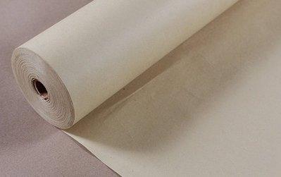 *墨言齋*1507 仿古色檀皮加厚宣紙(半生熟) 書畫長卷 書畫用紙 御用絹紙 35cm*100m