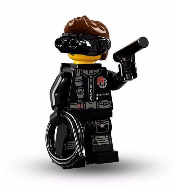 現貨【LEGO 樂高】美國正品 積木/ Minifigures人偶包系列: 16代 71013 單一人偶: 特務間諜