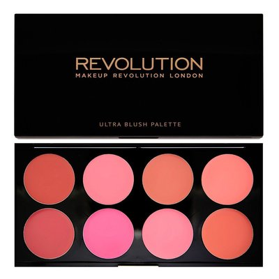 【愛來客】英國Makeup Revolution Blush Palette All About Cream 腮紅膏盤