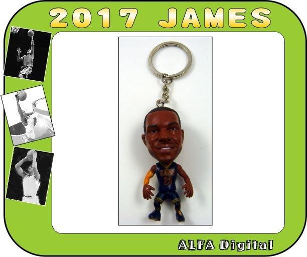 免運費!最新到貨!騎士隊雷霸龍詹姆斯LeBron James公仔鑰匙圈/高度約6.5公分!限量只有10隻要買要快!!