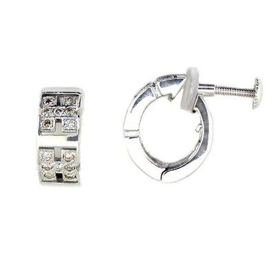 【JHT 金宏總珠寶/GIA鑽石專賣】0.22ct天然鑽石耳環/材質:18K(JB42-A13)