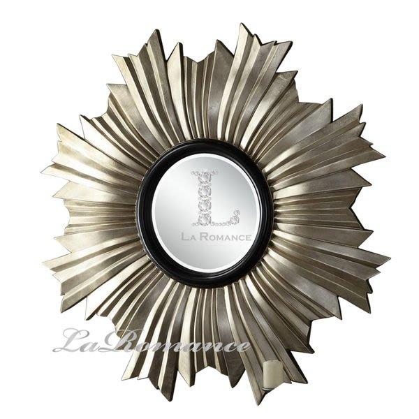 【芮洛蔓 La Romance】Mindy Brownes - 金箔太陽裝飾鏡