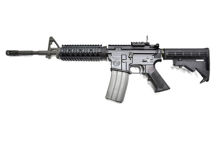 14.5吋~GHK M4 V2 NAVY SEAL GBBR 第二代 海豹刻瓦斯槍