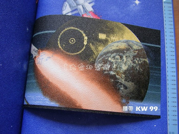 【大台北裝潢】KW台灣現貨兒童壁紙* 外太空腰帶(2色) 每支650元