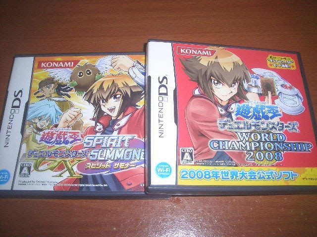 N3DS 3DS / NDSL NDS 遊戲王GX 兩片一起賣 ~ 另有PSP 遊戲王5D's 5Ds ZEXAL