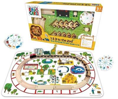 *小愛愛童書*【上信誼】LIT MAGIC語言學習套裝:動物園小火車