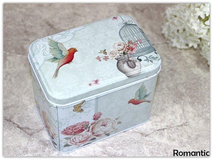 浪漫派飾品 P93 龍與鳥 收納盒 鐵盒 包裝