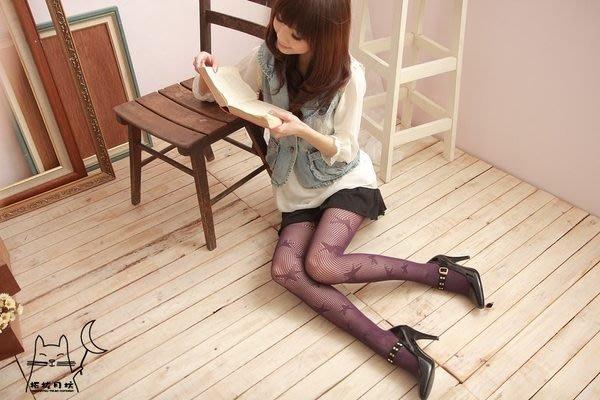 【拓拔月坊】日本製 MORE 隨意風 編織星星柄 網襪 褲襪 春夏款~現貨!