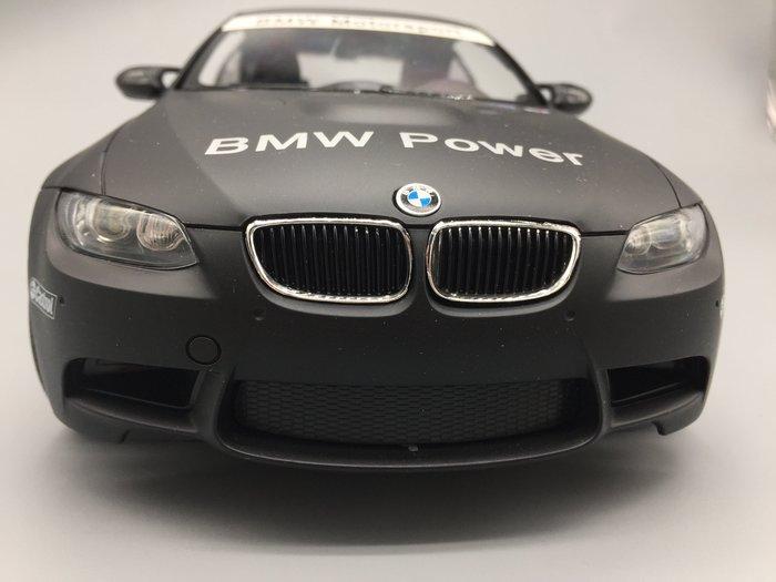 阿莎力 正版授權 1/14 BMW E92 M3 消光黑