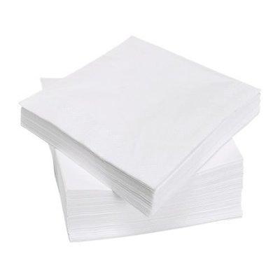 ☆创意生活精品☆IKEA  FANTASTISK   餐巾纸( 白色/ 100 件装)