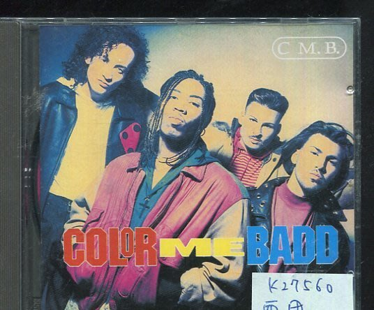 *真音樂* C.M.B. / COLOR ME BADD 二手 K27560