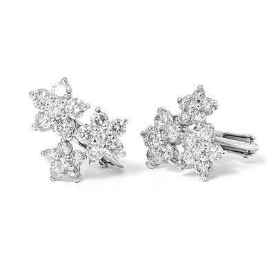 【JHT金宏總珠寶/GIA鑽石專賣】1.84克拉天然鑽石耳環/材質:14k(JB26-A14)