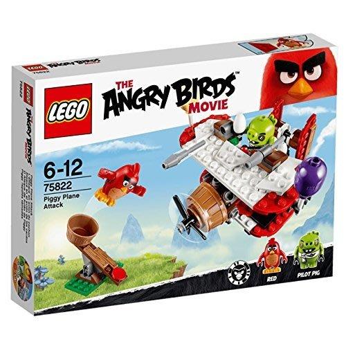 台中 **宏富玩具**LEGO 樂高積木 Angry Birds 憤怒鳥 LT75822 Piggy Plane Att