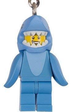 現貨【LEGO 樂高】全新正品 積木 鑰匙圈 人偶 吊飾 15 代人偶系列 71011 | 鯊魚人 Shark