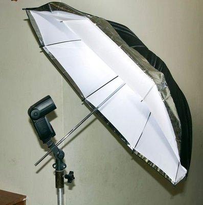 呈現攝影-柔光傘-透白兩用傘33吋 直...
