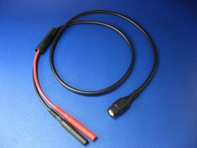TECPEL 泰菱 》4mm公香蕉頭 轉接 BNC 三用電表 轉 示波器 測線 LF180