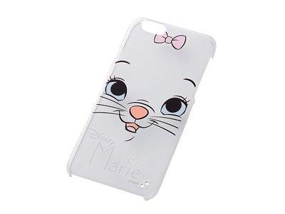 尼德斯Nydus~* 日本 迪士尼 瑪莉貓 Marie 硬殼 手機殼 透明 大臉款 4.7吋 iPhone6
