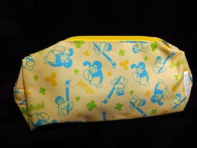 藍河馬x Pingu 企鵝家族 公仔 筆袋