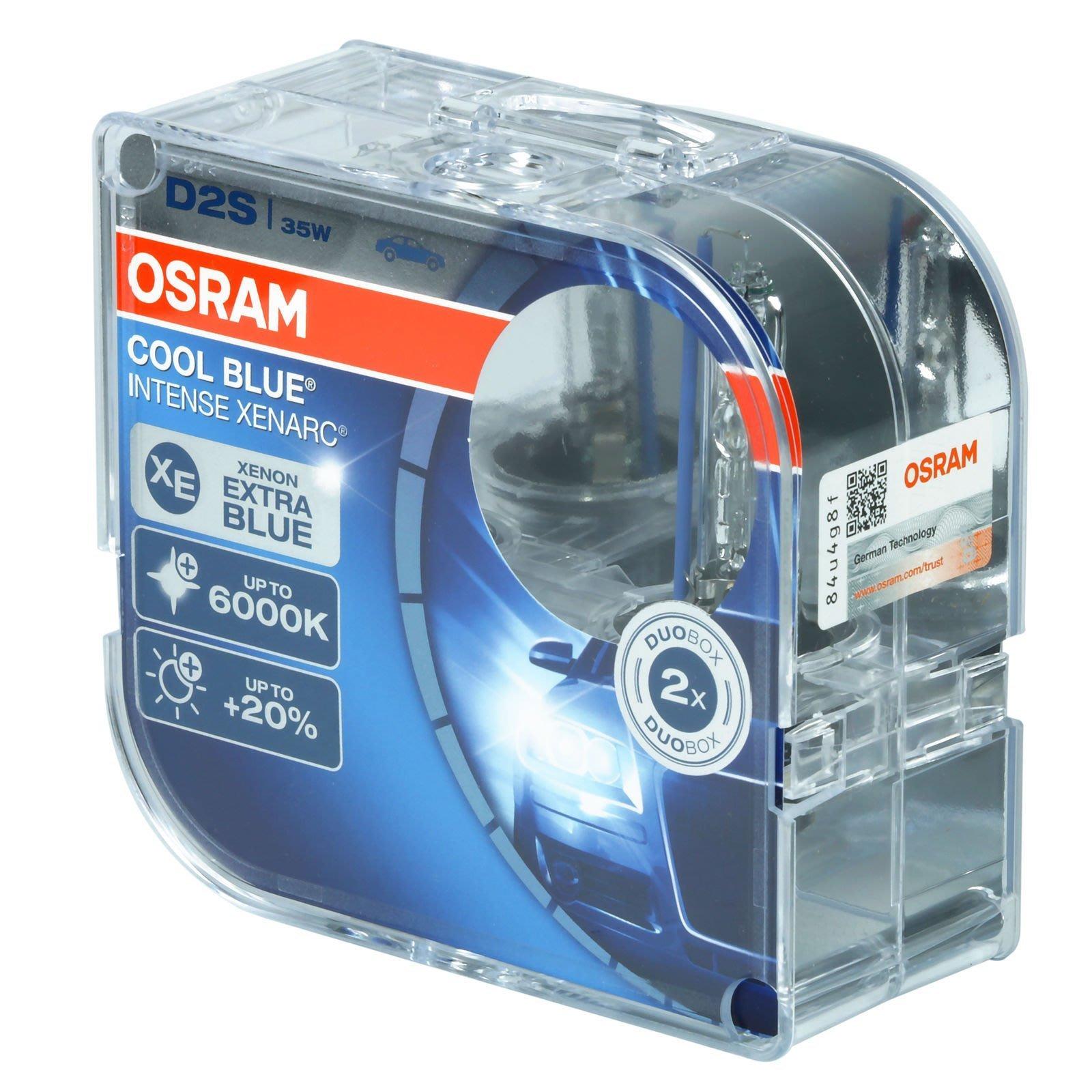 6000k ~ D2S hid Osram 66240CBI  XV2 Vi 4600K Philips White