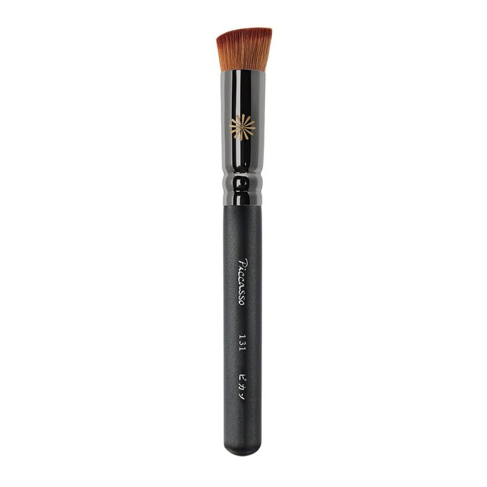 【愛來客】韓國PICCASSO New131 細膩柔軟斜頭粉底刷 遮瑕刷 粉底液刷 化妝刷