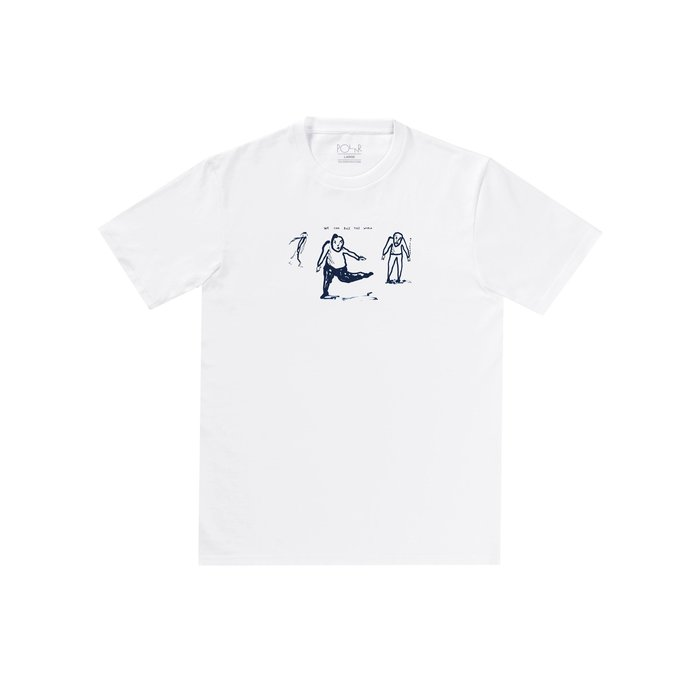《Nightmare 》Polar Skate Co Doodle tee - White