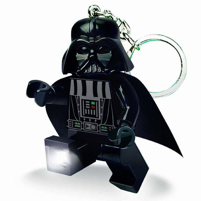 現貨附盒【LEGO 樂高】全新正品/ 星際大戰 黑武士 LED 鑰匙圈 Darth Vader 人偶 公仔 手電筒