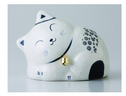 [便利小舖] 日本製 招財貓存錢桶 貓咪招財擺件 店鋪餐廳櫃檯裝飾 小費箱 存錢筒 1933A