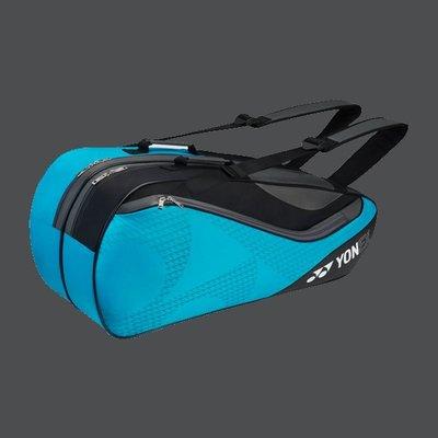 【凱將體育*羽球專業店】Yonex專業6支裝雙肩拍包(BAG8726EX)