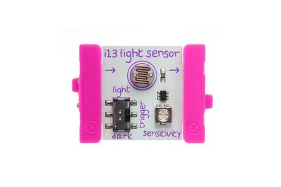 美國 littleBits 零件 (output): LIGHT SENSOR  (8折出清)