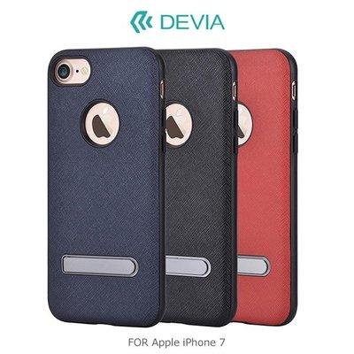 --庫米--DEVIA Apple iPhone 7 品範支架皮套 手機殼支架 保護殼 背殼