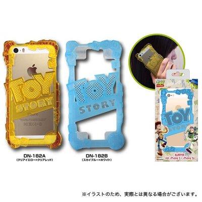 尼德斯Nydus~* 日本正版 迪士尼 Disney 玩具總動員 toy story 邊框式 硬殼 手機殼 iphone 5 5S 共2款