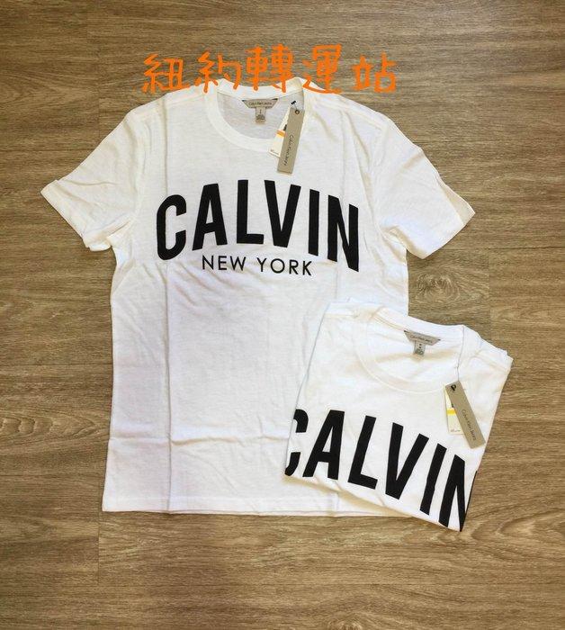 紐約轉運站 : 美國購買 現貨在台  CK Calvin Klein Jeans 男生棉質 印刷LOGO 圓領短T