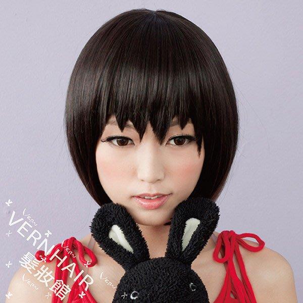 韋恩髮片-瀏海-小丸子造型瀏海髮片-cosplay動漫鋸齒狀假髮片-獨家設計-日本仿真髮絲(3色)【VH11503】