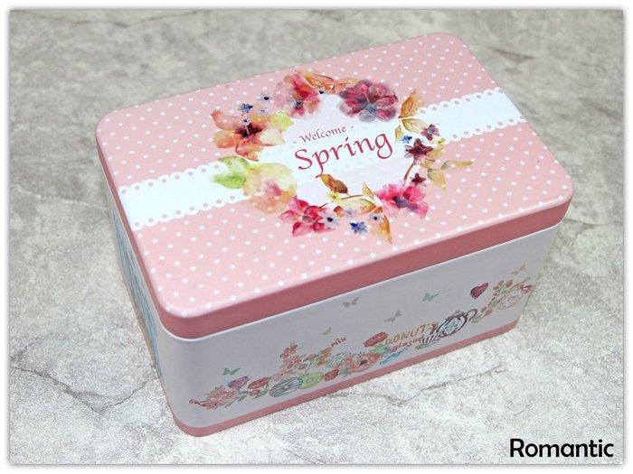 浪漫派飾品 P97 春之頌 收納盒 鐵盒 包裝