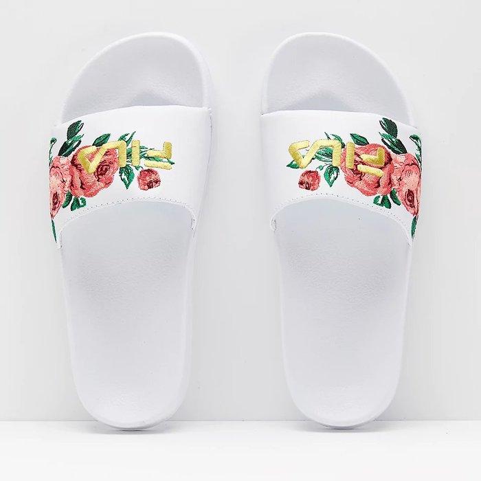 ~Footwear Corner鞋角 ~FILA Embroidery Slide Des