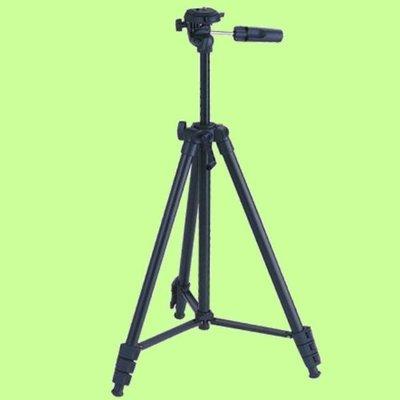 5Cgo【權宇】JUSINO SK-60 專業級單眼用雙水平儀雲台 560g铝合金相機腳架4節三脚架 37~1420mm