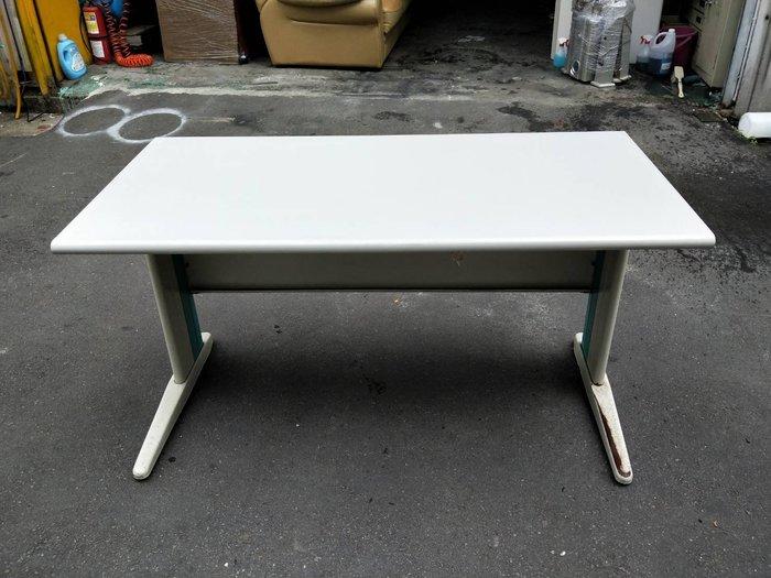 非凡二手家具 140cm辦公桌(CD腳)*主管桌*事務桌*工作桌*電腦桌*矮桌*會計桌*洽談桌*書桌*OA桌*