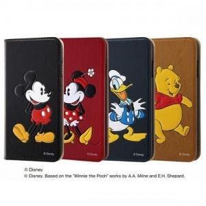尼德斯Nydus 日本正版 迪士尼 立體 翻頁皮套 可放卡片 手機殼 米奇米妮 唐老鴨 維尼 4.7吋 iPhone7