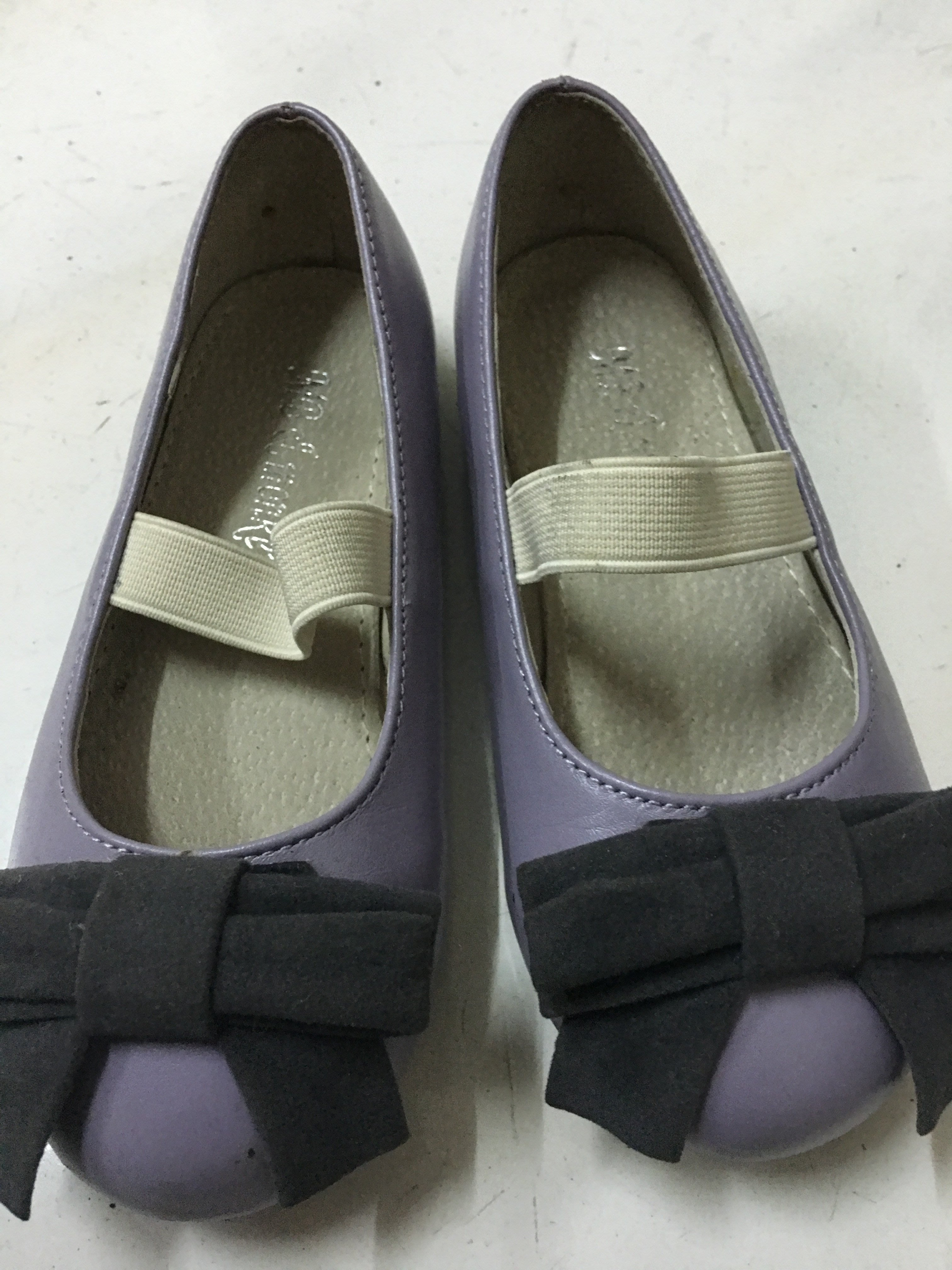 女童鞋 真皮.牛皮蝴蝶結飾 特價出清
