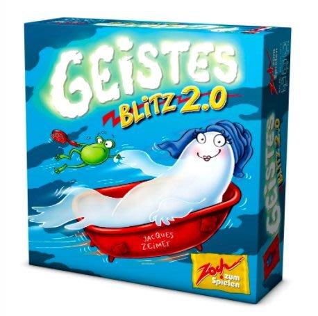 免運 塑封防水板 閃靈快手2 Geistes blitz 2 繁體中文 正版全新盒裝 新年禮物