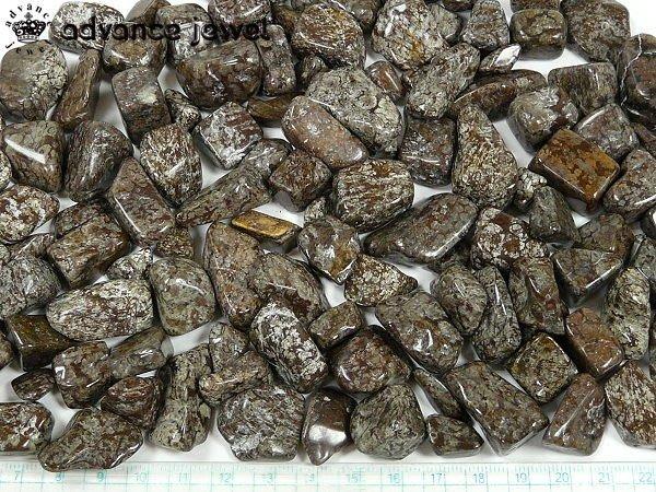 ☆寶峻鹽燈☆特價100元~棕色雪花黑曜岩碎石0.5kg/包,如雪花飄零般白色紋,DIY開運擺飾