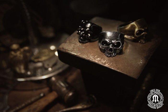 GOODFORIT / 台灣飾品品牌METALIZE國王骷髏戒指