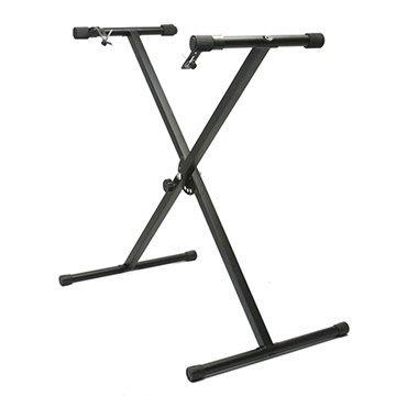 【奇歌】JAZZY原廠,X型電子琴腳架,61鍵54鍵電子琴通用,可調式七段收納琴架