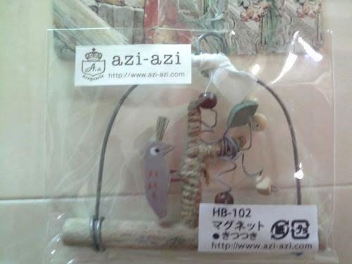 美生活館 --- 日本進口 鄉村Zakka風 復古仿舊 秘密花園 吊飾--啄木鳥 --店面民宿 餐廳 禮品