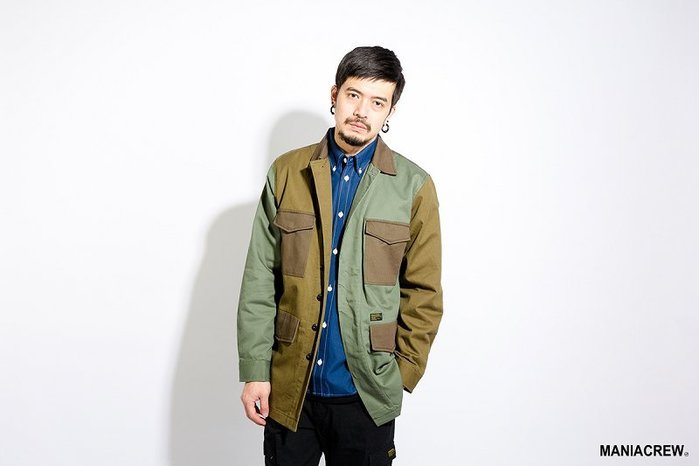 [NMR] MANIA 外套 口袋 大衣 17 A/W Chore Coat