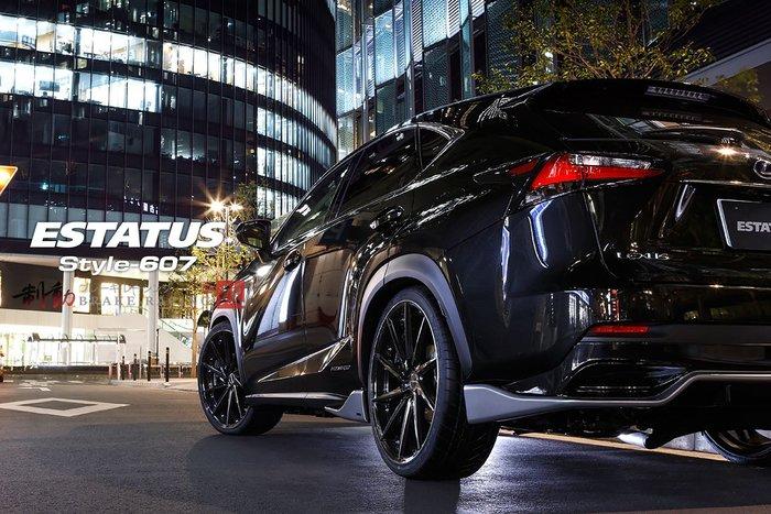 日本 ESTATUS-607 VIP 奢華風格 特殊車面設計 可提供前後配 19/20/22 各車款歡迎詢問 / 制動改